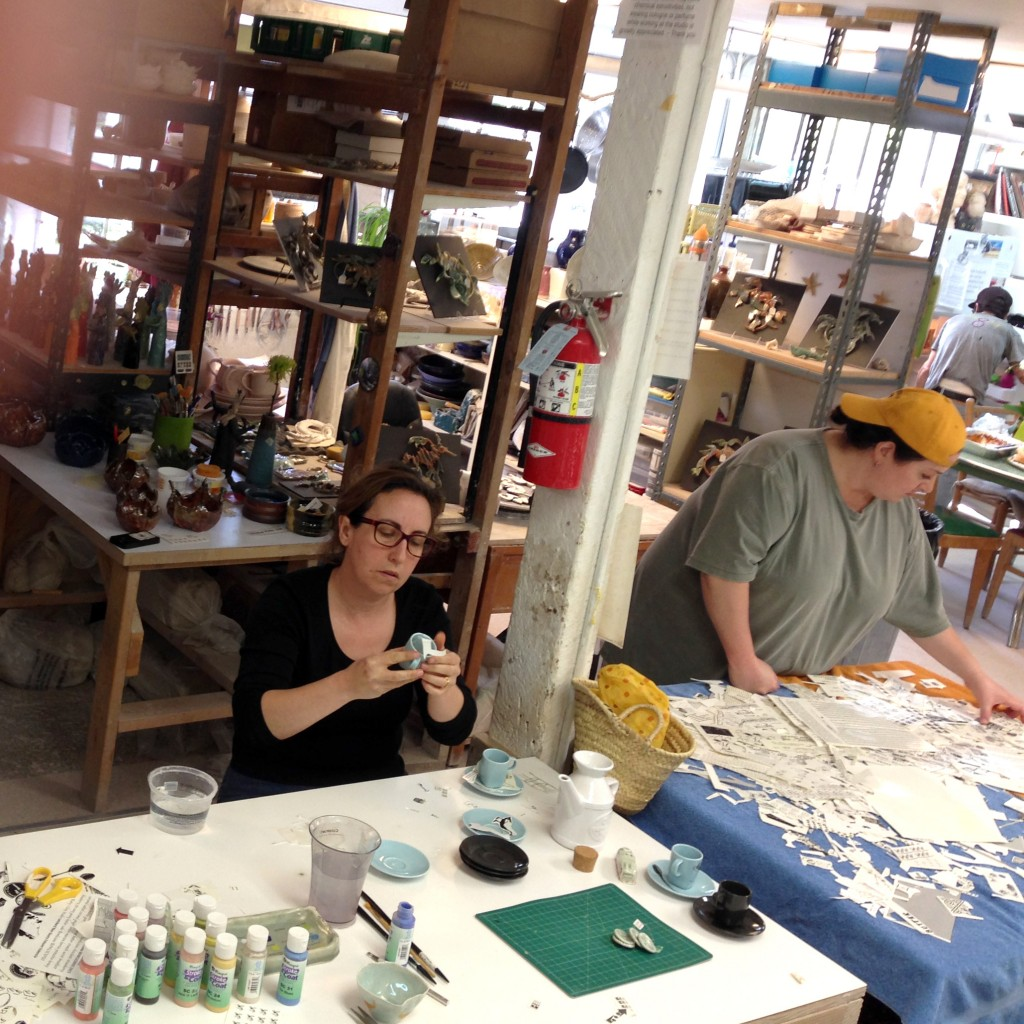 Decals in action with Deborah and Coco